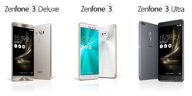 ZenFone 3, ZenFone 3 Deluxe, ZenFone 3 Ultra, découvrez les nouveaux smartphones d'Asus