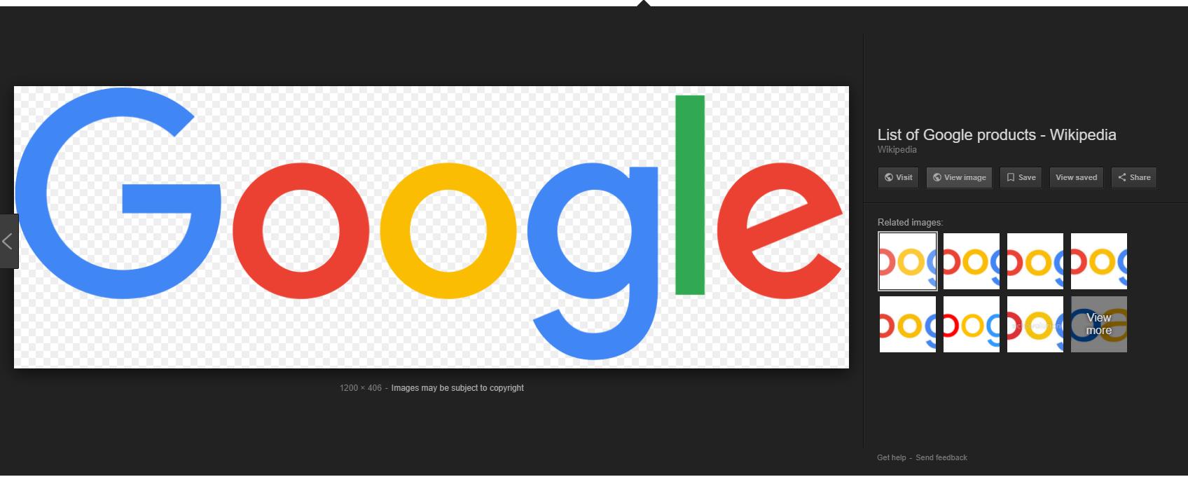 Google ne permet plus le téléchargement d'image depuis sa plateforme d'image