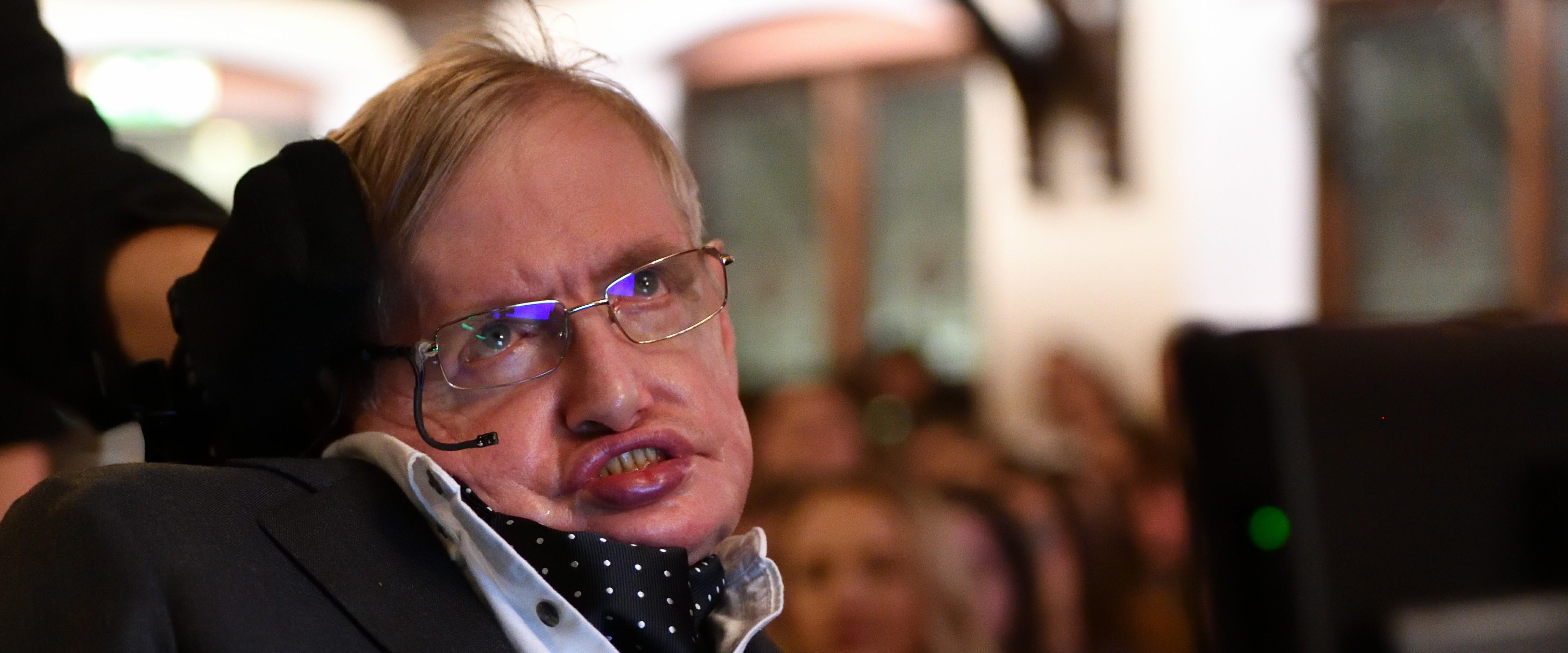 Le professeur Stephen Hawking à Cambridge en novembre 2017 - GettyImages