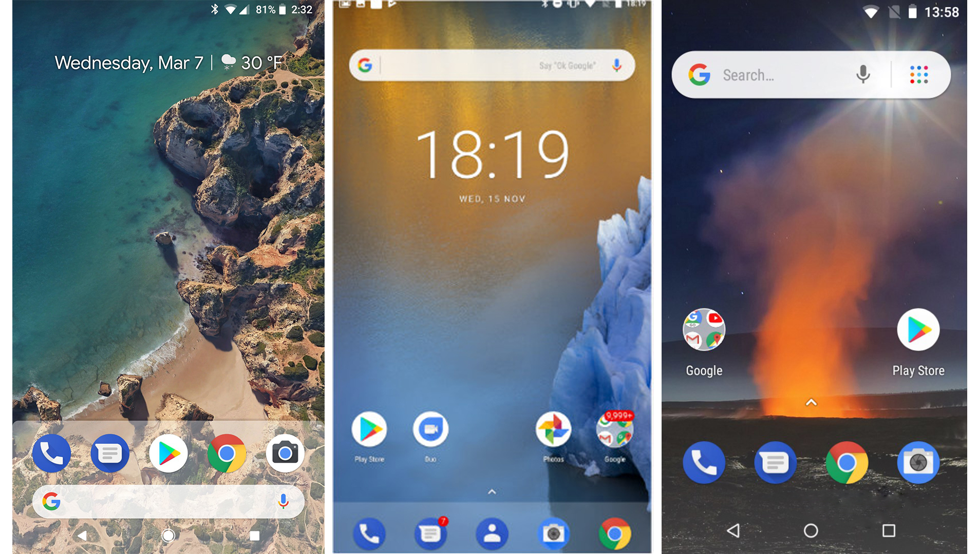 Android Stock vs Android One vs Android Go