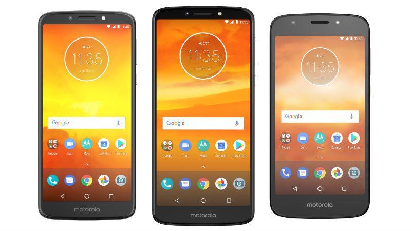 Les Motorola Moto E5