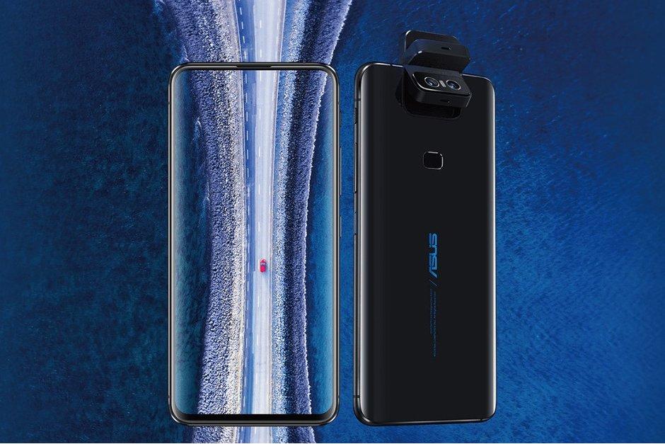 L'ASUS ZenFone 6 offre un designe sans encoche avec une caméra pivotante