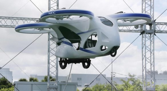 voiture volante NEC japon