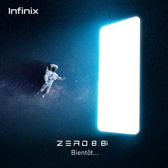 Infinix zero8 teaser