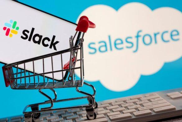 Slack vendu à Salesforce