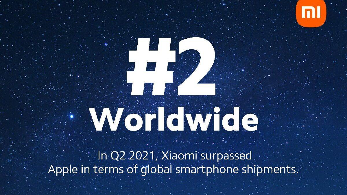 Xiaomi devient le deuxième constructeur de smartphones dépassant ainsi Apple