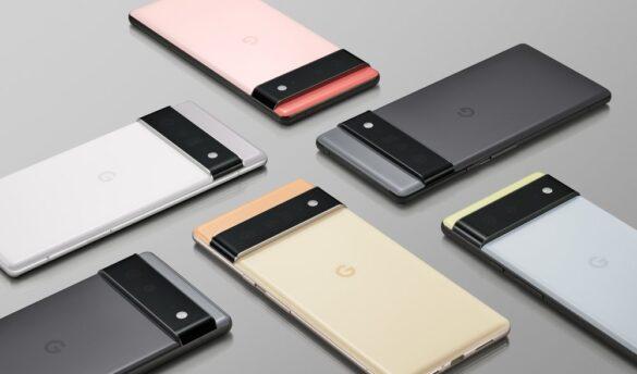 Google Pixel_6 et Pixel 6 Pro