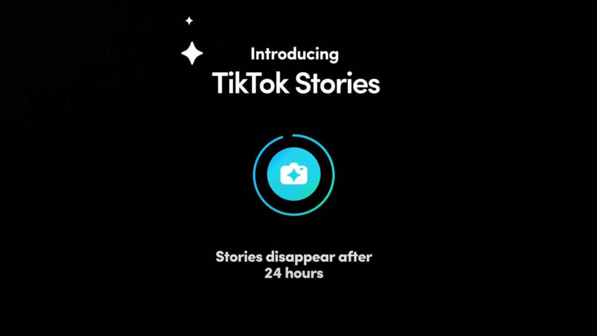 Les stories arrivent bientôt sur TikTok