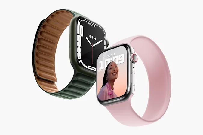 L'Apple Watch Series 7 offre un écran plus grand et plus de durabilité