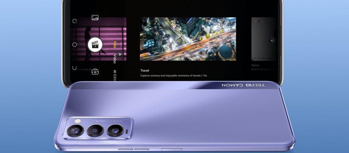 Le Tecno Camon 18P dispose d'un écran de 120Hz tandis que le Camon 18 cale à 90Hz